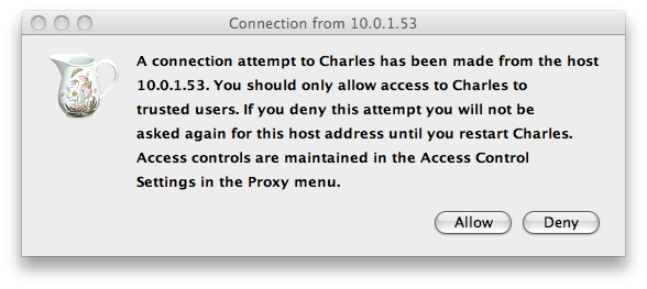 Charles Proxy Allow